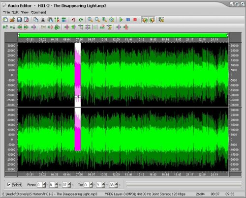 WAV Editor and WAV Editing Software