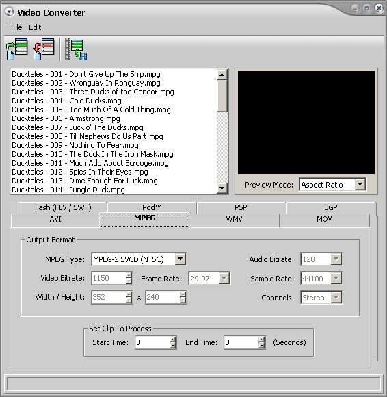 convert mpeg to avi free  full version