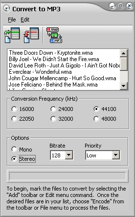 WAV MP3 Converter Software