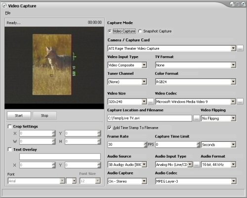 Video Capture Software