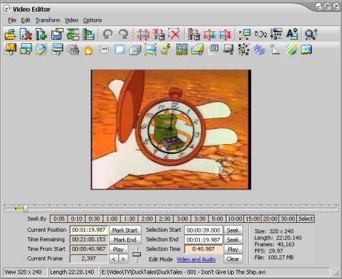 AVI Editor and AVI Editing Software