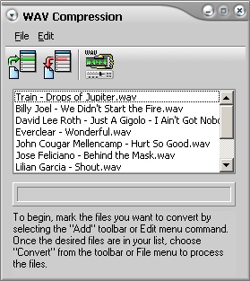 Compress WAV Files Software